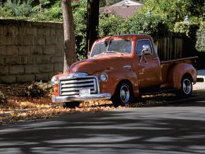 Old GMC Truck During Fall, Santa Barbara, California, USA by Savanah Stewart