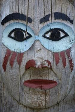 USA, Alaska, Ketchikan, Totem Bight State Historical Park by Savanah Stewart
