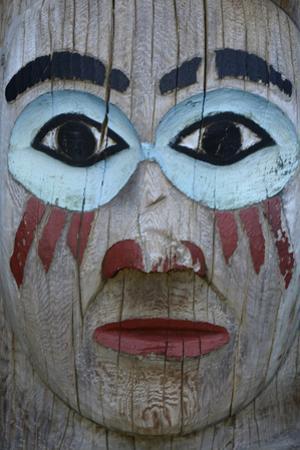 USA, Alaska, Ketchikan, Totem Bight State Historical Park