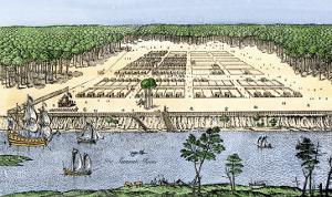 Savannah, Georgia, as Established by James Oglethorpe, 1741