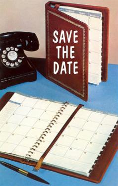 Save the Date, Day Planner
