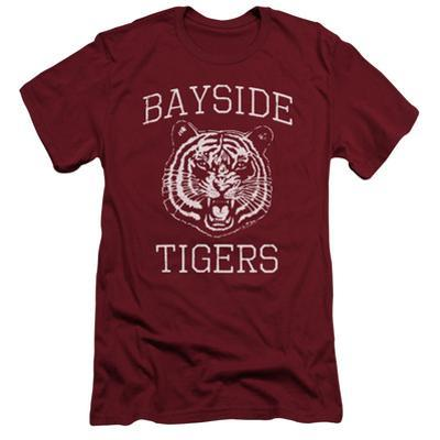 Saved By The Bell- Bayside Tigers Emblem Slim Fit