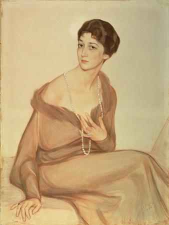 Portrait of Vanda Weiner, 1916
