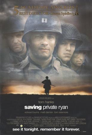 saving private ryan coursework help 'saving private ryan' is an award-winning film directed by stephen  is different  to many other war films, for example, 'inglourious basterds',.
