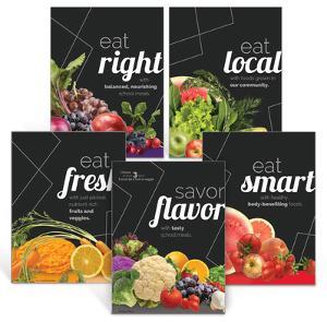 Savor Flavor Poster Set