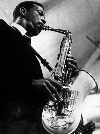 Saxophoniste Ornette Coleman C. 1959