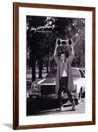 Say Anything--Framed Poster