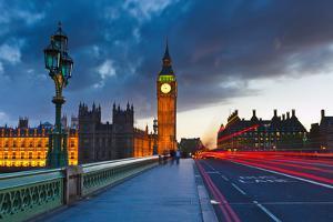 Big Ben at Night, London by sborisov