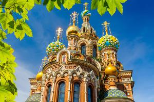 Church of the Savior on Spilled Blood in St. Petersburg, Russia by sborisov