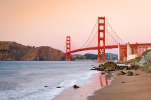 Golden Gate Bridge at Dusk, Sun Francisco by sborisov