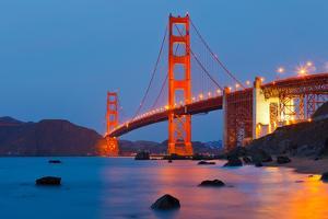 Golden Gate Bridge by sborisov