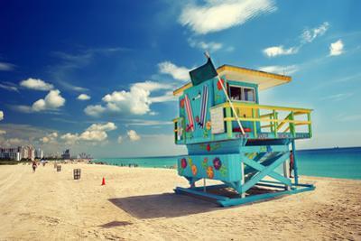 South Beach in Miami, Florida