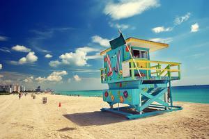 South Beach in Miami, Florida by sborisov