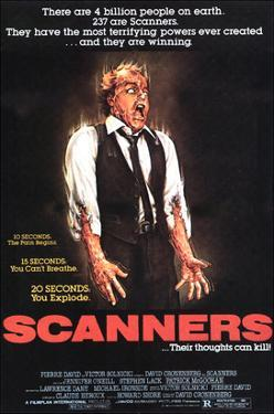 Scanners, Michael Ironside, 1981
