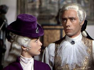 SCARAMOUCHE, 1952 directed by GEORGE SIDNEY Janet Leigh and Mel Ferrer (photo)
