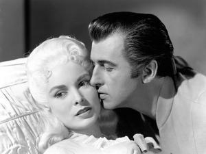 SCARAMOUCHE, 1952 directed by GEORGE SIDNEY Janet Leigh and Stewart Granger (b/w photo)