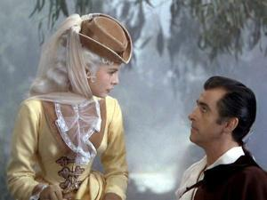 SCARAMOUCHE, 1952 directed by GEORGE SIDNEY Janet Leigh and Stewart Granger (photo)