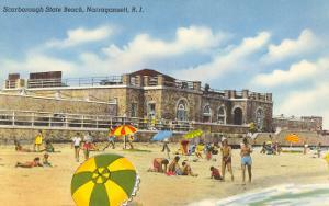 Scarborough State Beach, Narragansett, Rhode Island