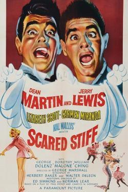 Scared Stiff, Dean Martin, Jerry Lewis, 1953