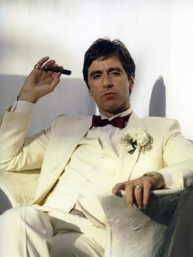 SCARFACE, 1983 directed by BRIAN by PALMA Al Pacino (photo)