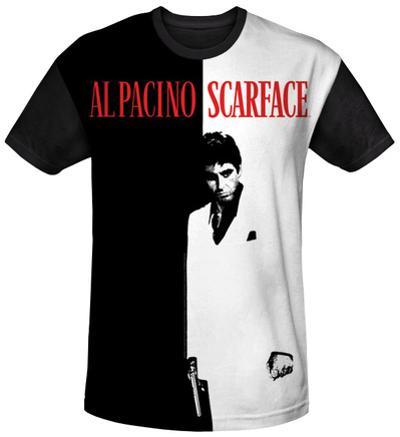 Scarface - Big Poster Black Back