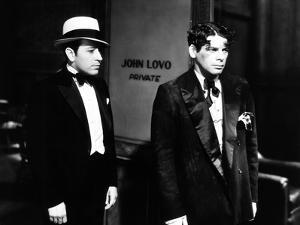 Scarface, from Left: George Raft, Paul Muni, 1932