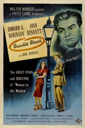 Scarlet Street, 1945, Directed by Fritz Lang
