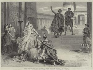 Scene from Antony and Cleopatra, at the Princess's Theatre
