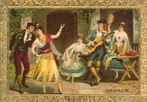 Scene from Carmen