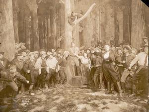 Scene from 'La Fanciulla Del West' by Puccini (1858-1924), 1910