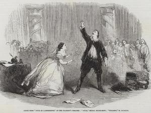 Scene from Lucia Di Lammermoor, at Her Majesty's Theatre