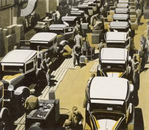 Scene from One of Chevrolets 17 Great American Factories