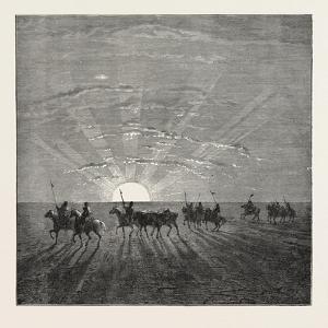 Scene in the Desert of Gobi