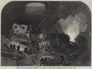 Scene of the Extraordinary Accident in the Welwyn Tunnel, Great Northern Railway