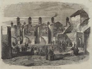 Scene of the Late Fire at Portsmouth