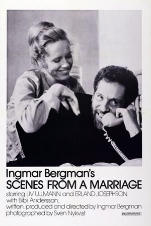 Scenes from a Marriage, Liv Ullmann, Erland Josephson, 1973