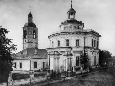 Church of St Metropolitan Philip, Moscow, Russia, 1882