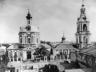 Church of the Holy Martyr Nikita, Old Basmannaya, Moscow, Russia, 1883