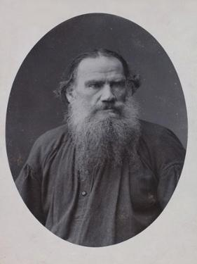 Leo Tolstoy, Russian Author, 1900 by Scherer Nabholz & Co