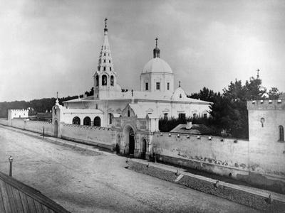 Monastery of St Alexius, Moscow, Russia, 1882