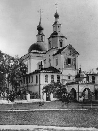 Monastery of St Daniel, Moscow, Russia, 1882