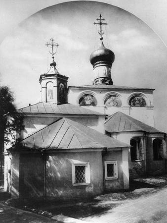 Monastery of St Nikita, Moscow, Russia, 1881