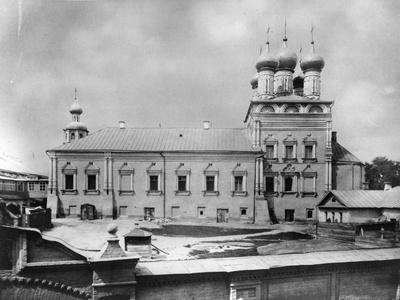 St Peter Monastery, Moscow, Russia, 1881