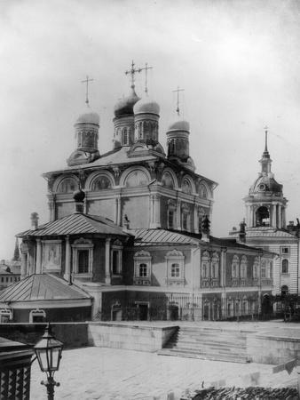 Znamensky Monastery, Moscow, Russia, 1881