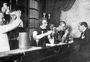 An der Bar, 20er Jahre by Scherl