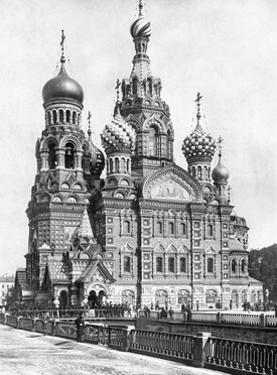 Auferstehungskirche in Sankt Petersburg, 1910er Jahre by Scherl