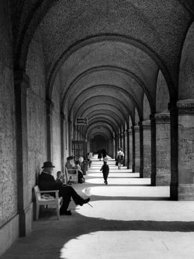 Bad Nauheim, 1931 by Scherl