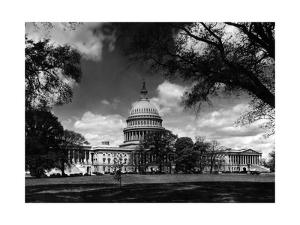 Capitol in Washington D.C. by Scherl