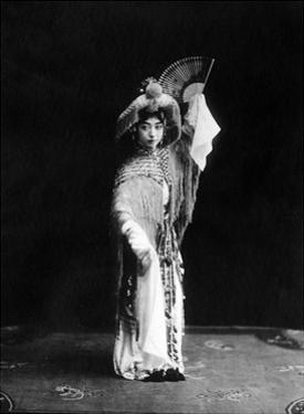 Chinesische Theaterschauspielerin, 1924 by Scherl