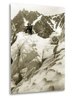Expedition on the Mont Blanc, 1911 by Scherl